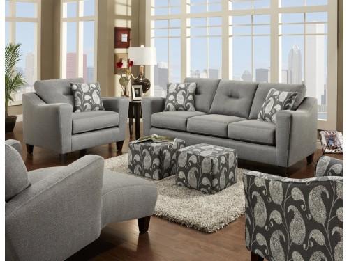 Apex Cinder Sofa Collection
