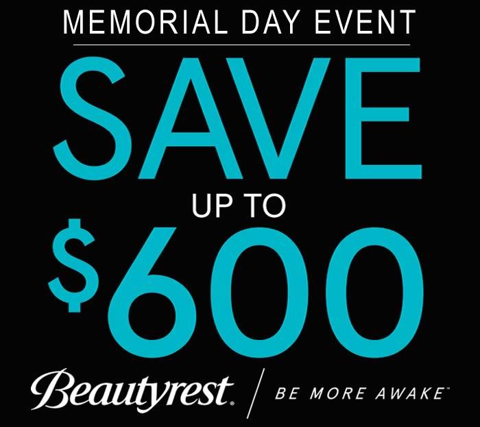 Beautyrest Memorial Day Event